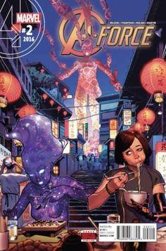 A-Force #2 Marvel Comics (2016)