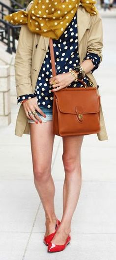 Polka Dot Mix Outfit by Atlantic - Pacific