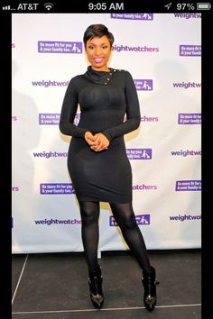 Cute pixie on Jennifer Hudson, January 2014