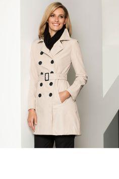 Trench Coat - Jackets, Coats & Vests - Grace Hill Stitch Detail Trench - EziBuy New Zealand