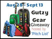 For Him and My Family: Gutzy Gear Giveaway -The Pitch List #Gutzygear