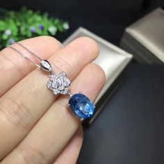 US $66.00     Get Stylish Clothes On A Budget!     FREE Shipping Worldwide     Buy one here---> http://ebonyemporium.com/products/natural-blue-topaz-gem-pendant-s925-silver-natural-gemstone-pendant-necklace-trendy-fashion-camellia-women-girl-gift-jewelry/    #fashion_style