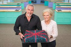 Paul Hollywood and Mary Berry: The Great British Baking Show