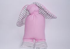 Image of R O S S O - Big rabbit soft toy, Pink