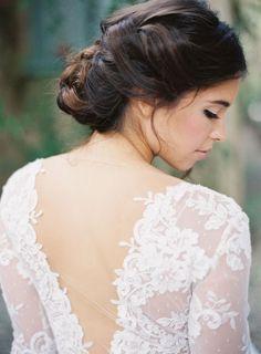 Peinados de novias 2014: la tendencia de este año - Los peinados de novia con trenzas recogidos siguen siendo muy populares este año
