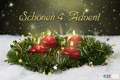 Beautiful 3 Advent pictures # # Informations About schönen 3 advent bilder - Gb Bilder Christmas Wreaths, Christmas Decorations, Christmas Tree, Christmas Ornaments, Holiday Decor, Anime Fr, 1 Advent, Advent 2016, Winter Illustration