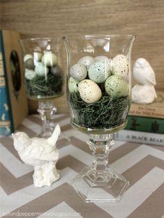 Salt and Pepper Moms: Dollar Store Easter Decor