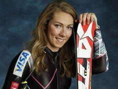 Mikaela Shiffrin- gold medalist in women's slalom.