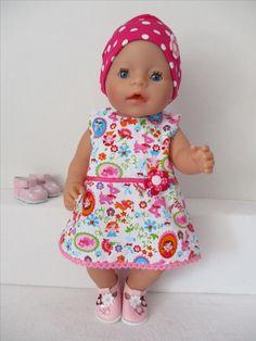 Een schattige jurkje voor Baby Born Girl