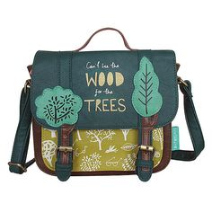 Daydream Trees Satchel by Disaster Designs Disaster Designs, Butterfly Bags, Shops, King Louie, Girly Gifts, Cute Purses, Luxury Bags, School Bags, Bellisima