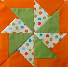 free Merry Go Round pattern from Quilt in A Day