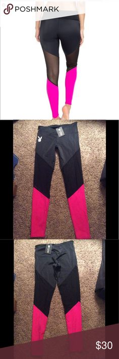 Onzie playboy mesh legging nwt Onzie playboy mesh legging new with tags s/m super cute mesh detail Onzie Pants Leggings