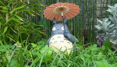 Totoro in my garden... by AlbertoCarrera.deviantart.com on @DeviantArt