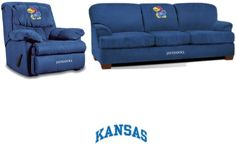 University of Kansas Stadium Fan Cave Set at sportsfansplus.com