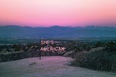 She's American.