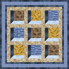 ~free pattern~ Nature's Windows, at Benartex