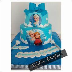 Elsa pasta, elsa cake, cakes, elsa