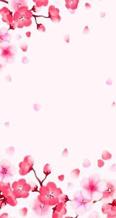 Fondos de pantalla kawaii New Wallpaper Celular Flores De Cerezo 63+ Ideas  #PinkWallpaper #pinkwallpaper