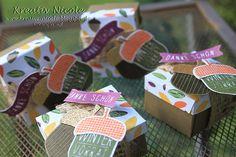 #Goodies mit #Produkten von #Stampin' Up! mit der neuen #Eichel#stanze und passendem #Stempelset.