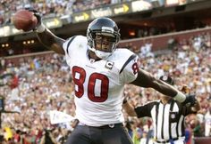Andre Johnson continues the 'Canes NFL Streak with a touchdown for the Texans