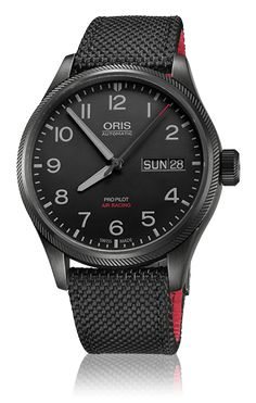 Oris's love affair with the skies continues with the Air Racing Edition V, a watch inspired by the exploits of daredevil aerobatic pilot and Oris ambassador Don Vito Wypraechtiger. The watch is limited to 1,000 pieces.