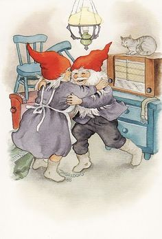 inge look - Bing Images David The Gnome, Illustration Noel, Kobold, Elves And Fairies, Christmas Gnome, Up Girl, Helsinki, Faeries, Illustrators