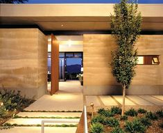 Custom Home of the Year Award-Winners 2003-2012 - Custom Homes, Award Winners, Awards - residentialarchitect Magazine Rammed Earth Homes, Rammed Earth Wall, Earthship, Sustainable Architecture, Architecture Design, Contemporary Architecture, Porche, Earth Design, Desert Homes