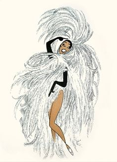 Josephine baker! This would be an awesome start to a sleeve if I'm brave enough!