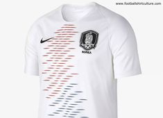 eaa80bc1a This is the new South Korea 2018 away football shirt by Nike which will be  used during the 2018 World Cup. Inspired by the Korean flag