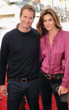 Rende Gerber & wife Cindy Crawford