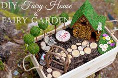 DIY Fairy House and Fairy Garden