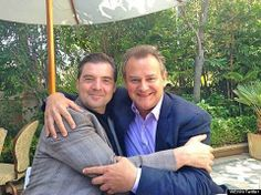 downton abbey buds!!! bates and lord grantham!