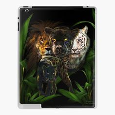 Art Phone Cases, Canvas Prints, Art Prints, Panther, Equality, Vinyl Decals, Lion Sculpture, Ipad, My Arts