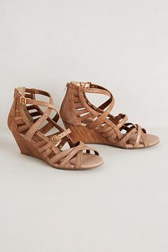 Just ordered my Koi Strappy Wedges from #anthropologie Getting an early start on spring!