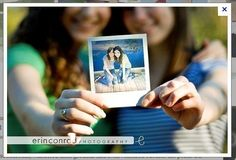Because you've come an incredibly long way together. | 37 Impossibly Fun Best Friend Photography Ideas