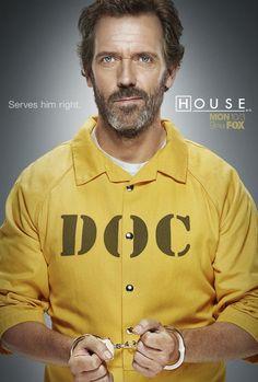 Hugh Laurie as House. season 8 promo.