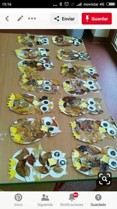 Easy Fall Crafts, Thanksgiving Crafts For Kids, Diy Crafts, Nature Crafts, Diy Projects To Try, Craft Activities, Fall Season, Diy Tutorial, Arts And Crafts
