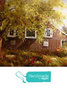 Trees and house-Oil painting-Hand painted original landscape painting-Artwork for Home Decor-Order scenery paintings on canvas-Custom original painting-128 from SunBirdArts http://www.amazon.com/dp/B01AK8PQ3W/ref=hnd_sw_r_pi_dp_FyuMwb1V7HPEN #handmadeatamazon