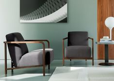 Gilda is a contemporary armchair with minimalistic features from Italian brand Porada.