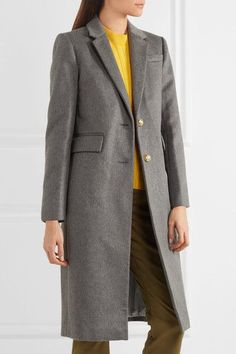 J.CREW Collection Olivia wool and cashmere-blend coat