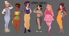 All the Disney Princesses I've done so far all together in one post!  Cinderella | Tiana | Snow White | Mulan | Sleeping Beauty