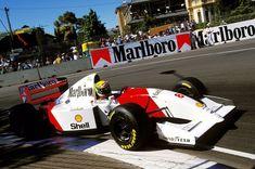 McLaren's 104th win & the 41st & final win of Ayrton Senna's brilliant F1 career. Australian GP, 7th November 1993.