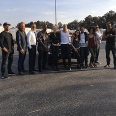 Fast 8 Cast Get Photographed