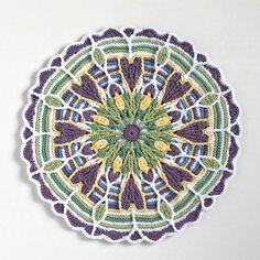 Mandala 2- Size 3 Thread | Flickr: Intercambio de fotos