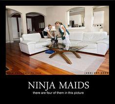 Ninja Maids!