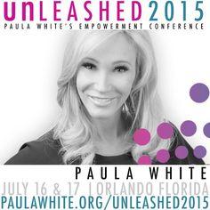 #PWMUnleashed2015 July16,17 FREE//dguaranteed seat $25 http://paulawhite.org/unleashed2015 @cindytrimm @chrisdurso @kimwalkersmith