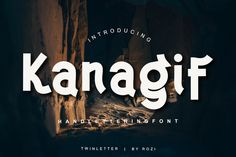Kanagif is a bold sans serif font, carefully handcrafted to become a true favorite. Kanagif is the perfect font for. Sans Serif Fonts, All Fonts, Premium Fonts, How To Become, Business Logos, Craft Business, Scripts, Fun, Business Logo Design
