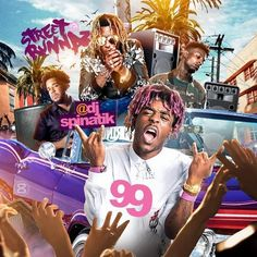 The song can be found on the new Street Runnaz 99 mixtape, which is out now. Shirt Printer, Cool Album Covers, Lil Uzi Vert, Mixtape, Cover Art, Printers, Flyers, Art Ideas, Storage
