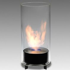 Eco-Feu Juliette Tabletop Bio-Ethanol Fireplace from LightKulture. Best prices and selection in online, modern, contemporary, energy efficient lighting and light fixtures. Biofuel Fireplace, Bioethanol Fireplace, Foyers, Foyer Mural, Tabletop Fireplaces, Ethanol Fuel, Firewood Holder, Porch Steps, Foyer
