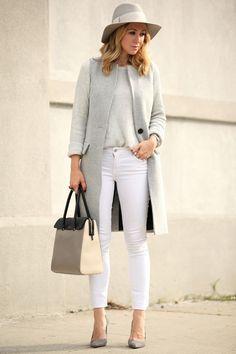 a29c4660d5 street style sleeveless long - Google Search Бруклин Блонд, Тренчи, Зимние  Наряды, Модные